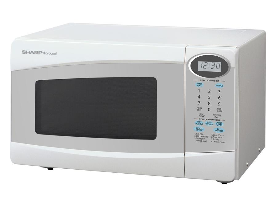 Rent or hire Microwave oven - white
